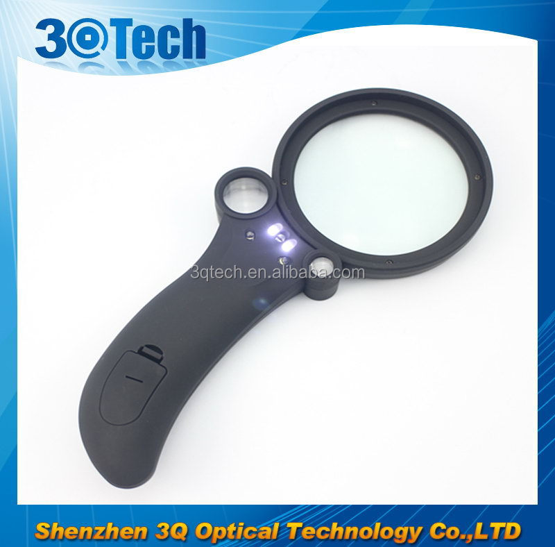 DH-81006 Alien express promotion gift magnifying glass pmma magnifying glass for kids