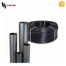 JH0498 250mm pe pipe black poly pipe underground water pipe materials