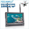 FEELWORLD mini helicopter toy 7 inch fpv monitor built in battery dual receiver 1000cdm2 brightness