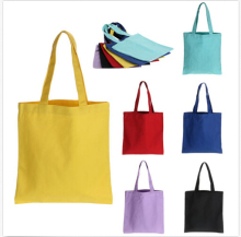 Reusable Wholesale Cheap Canvas Cotton Tote Shopping Bag