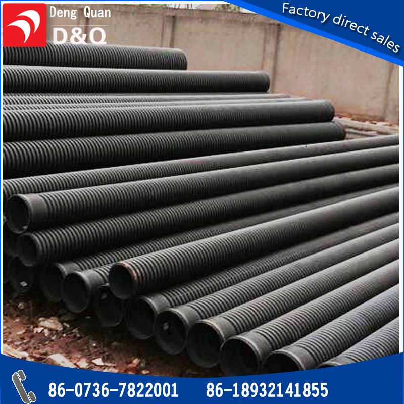 Flexible hdpe pipe for drainage applications water pipe