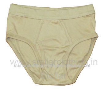 100% COTTON SOFT MEN'S BRIEFS
