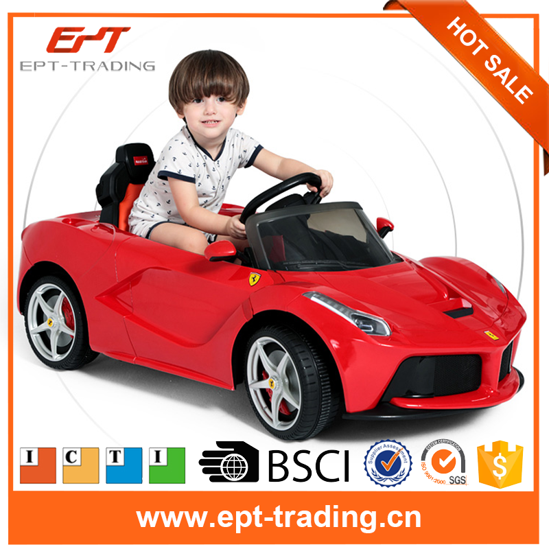 2016 Newest kids electric licensed ride on car with ICTI audit