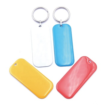 Wholesale Personalized Metal Customised Blank Hotel Room Keychain