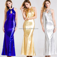monroo bright color long maxi women dress modern clothing