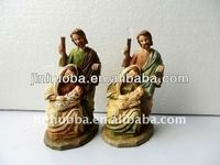 Handmade Customized Polyresin Catholicism religious decoration figurine