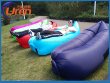 2016 New design outdoor furniture inflatable bean bag lounge chair air-filled bean bag