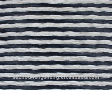polyester knitting warp napped paper printed with waving/striple fabric