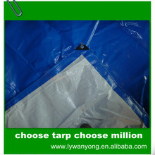 high quality customized recycle pe coated fabric printed tarpaulin