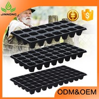 high quality plastic plant vegitable nursery seedling starter cell trays for seed germination wholesale