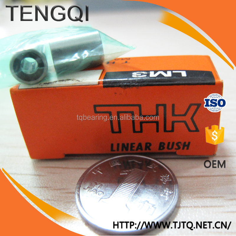 THK Linear Bush Bearing Shaft 3mm Motion Ball Bearing LM3UU LM4UU LM5UU LM6UU LM8UU LM10UU