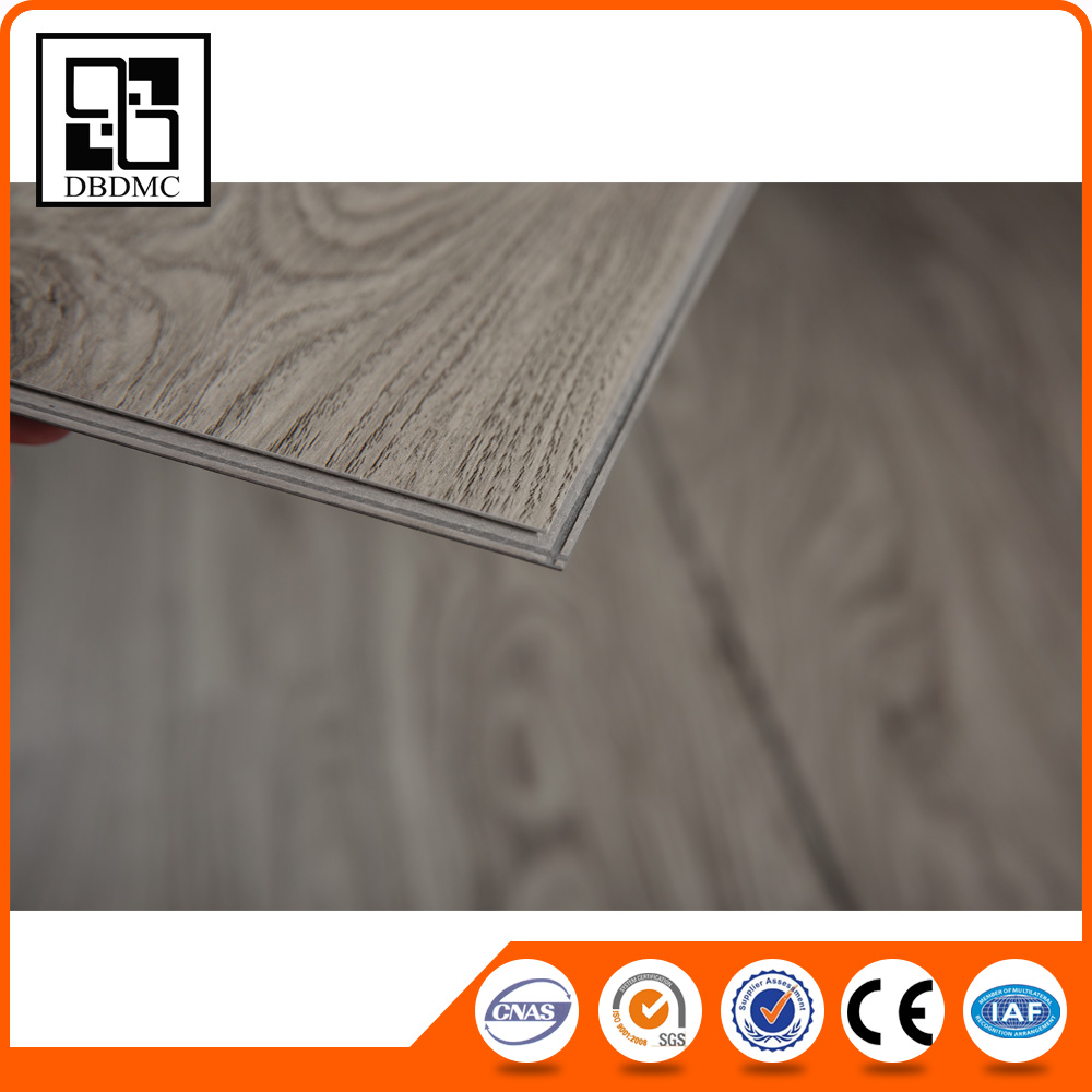 Hot Sale Best Quality Commercial Non-slip fire proof heat resistant LVT PVC Vinyl Floor Covering 4mm Click vinyl sheet flooring