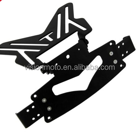 New design high quality motorcycle number plate holder number plate bracket