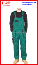 2015 High Quality Workwear Bib Pants Overalls Work Uniforms For Men