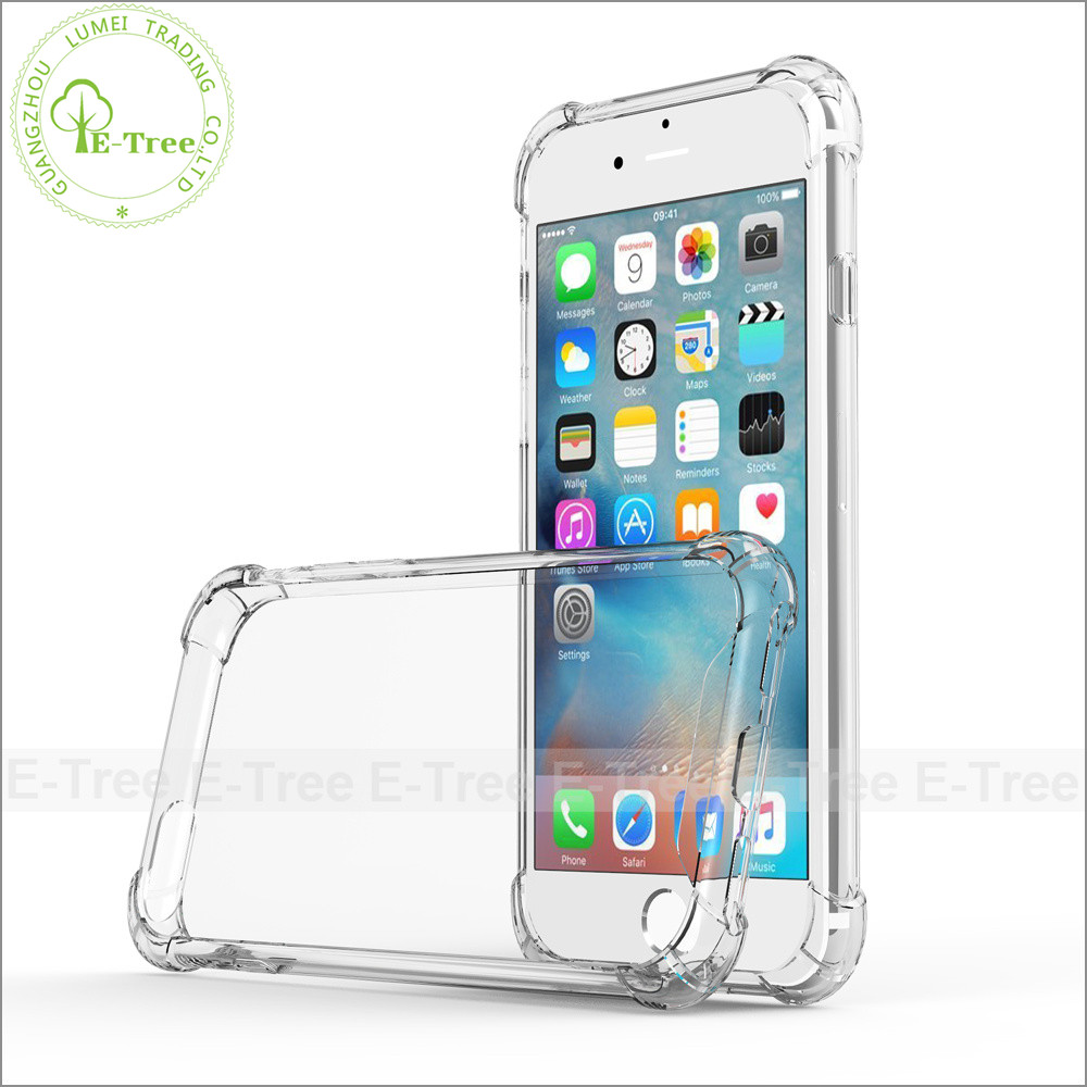 For iPhone 7 Covers Shockproof Clear, Transparent Case For Apple iPhone 7 Clear Case Shockproof