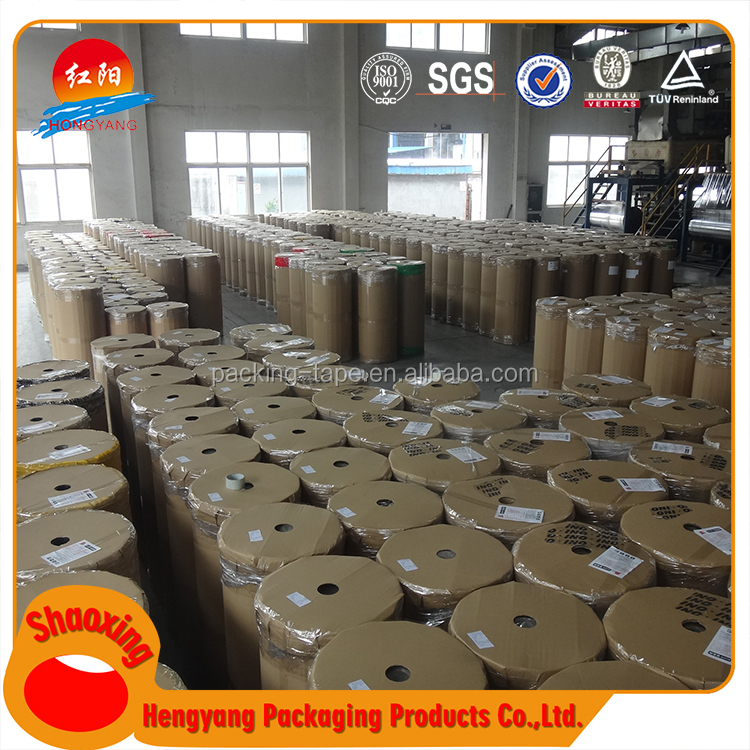 Hot Sale Tissue Paper Jumbo Roll Packing Tape Bopp Rolls For Carton Sealing