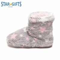 Stylish Long Fur Winter Boot Slipper