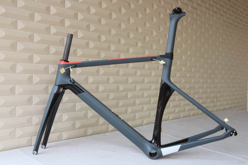 custom painting carbon road bicycle aero road frame carbon bicycle frame 700C road bike full carbon