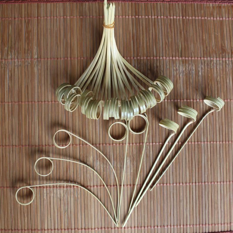 disposable bamboo BBQ skewers YDY180