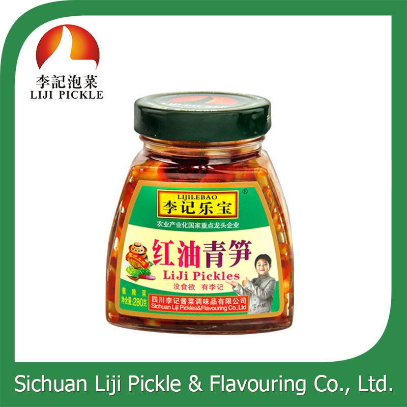 Appetizing healthy natural preserved vegetable with ISO certification pickled