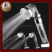negative ion shower head