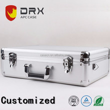Hard Heavy Duty Custom Aluminum Tool Case with Custom Size and Foam for Industrial Use