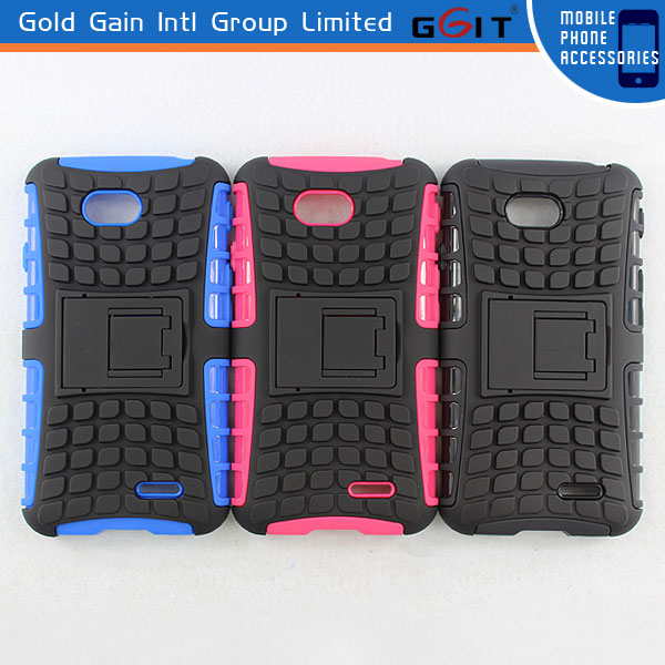Heavy Duty Strong Durable TPU Cover Case with Stand For Ipad MINI