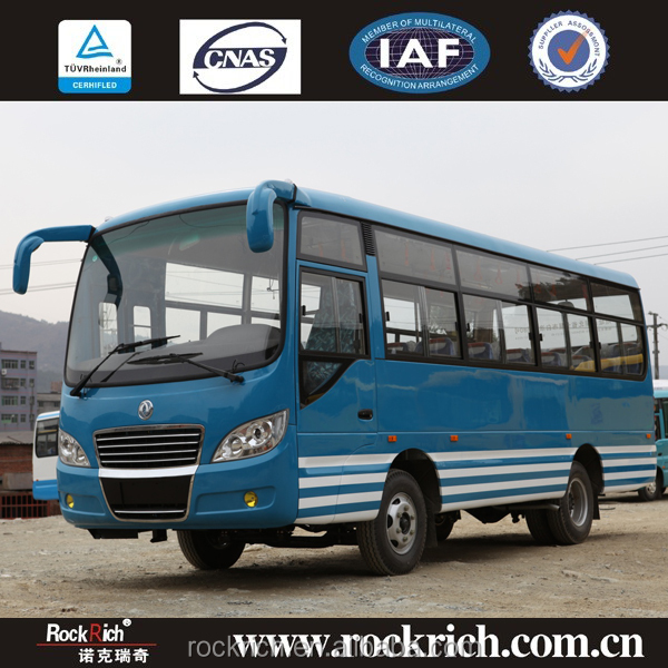 New model dongfeng 7.1m hyundai city sightseeing bus dimensions
