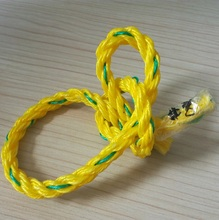 PP Material 8mm Twisted 3 Strand Polypropylene Braided Rope