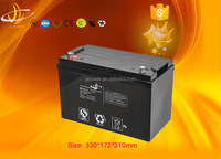 Reliable Quality 12v100ah UPS storage battery for solar system solar storage battery power 12V100Ah UPS battery
