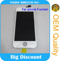 Recycle broken lcd screen for iphone 5 with digitizer assembly