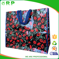 ISO/BSCI Newest product customize logo famous brand woven polypropylene bag recycling