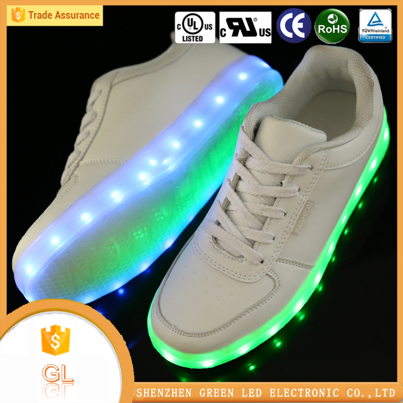 Latest footwear for girls new style fashion Led light up vietnam shoes