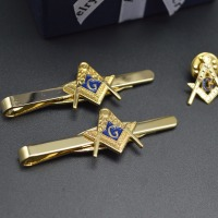 Masonic Tie Clip With Your Own