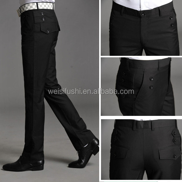 clothing factory! custom mens formal business pants design men wedding dress pants