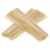 Bamboo bbq skewer flat or round