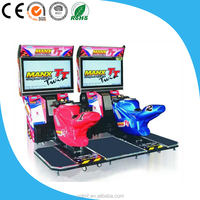 Max TT moto bike/Popular new 3D motion street racing car arcade game machine