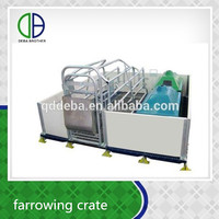Farrowing Stall For Sale Pig Cage Hot Galvanized Pig Equipment