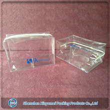soft clear vinyl pouch with zipper