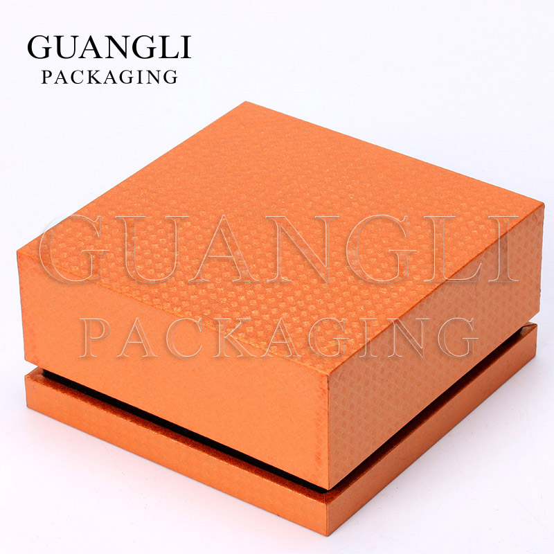 custom logo printed fancy cheap cardboard paper bracelet jewellery box