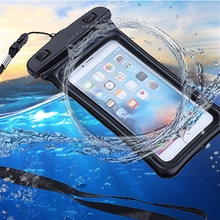 "5.8"" Waterproof Case Pouch Bubble Float Bag Water Proof Cover For iPhone SE 5s 6 6s 7 Plus 8 For Samsung S8 Plus"