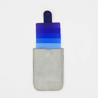 Beautiful cascading wallet id card holder
