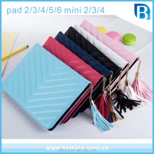 Lovely PU Stand Leather Case With Tassels For Ipad Mini 1 2 3 4 Womens Case