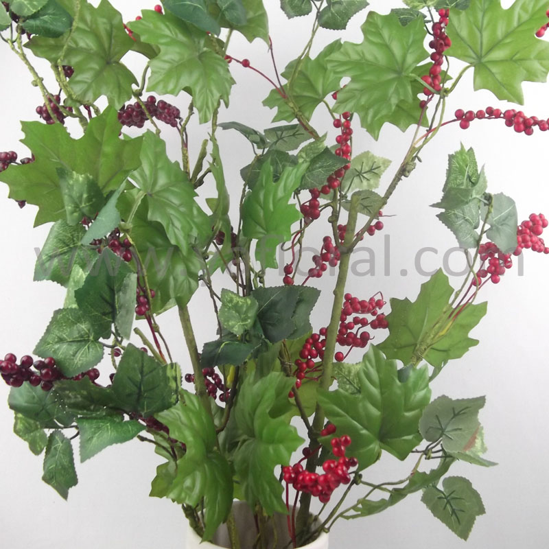 High quality artificial grape vines for home decoration for Artificial grape vines decoration