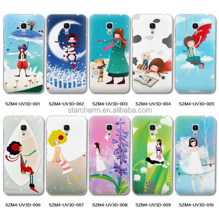 high quality cute animal and flower customized design cell phone case for Xiaomi M3 M4