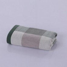 Custom luxury terry and musin soft organic cotton home towel