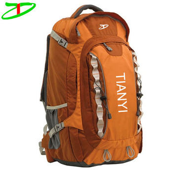 2017 new products outdoor hiking mountaineering mountain backpack, mountaineer backpack
