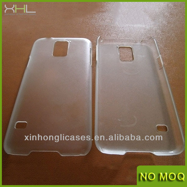 hard PC blank printing case for samsung s5