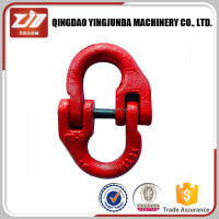 High Quality Grade 80 Alloy Steel European Type Anchor Chain Connecting Link
