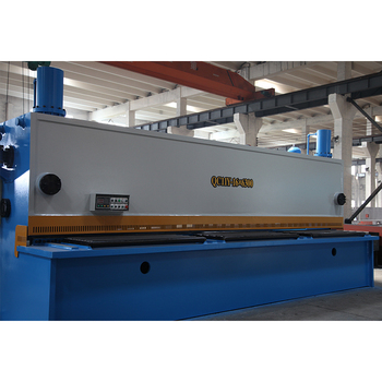Hydraulic iron sheet angle cutting machine shearing plate cutter